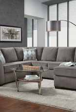 SouthCo Charisma Smoke Sectional