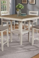 Crownmark Tahoe Counter-Height Table - White