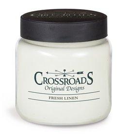 Crossroads Fresh Linen Candle