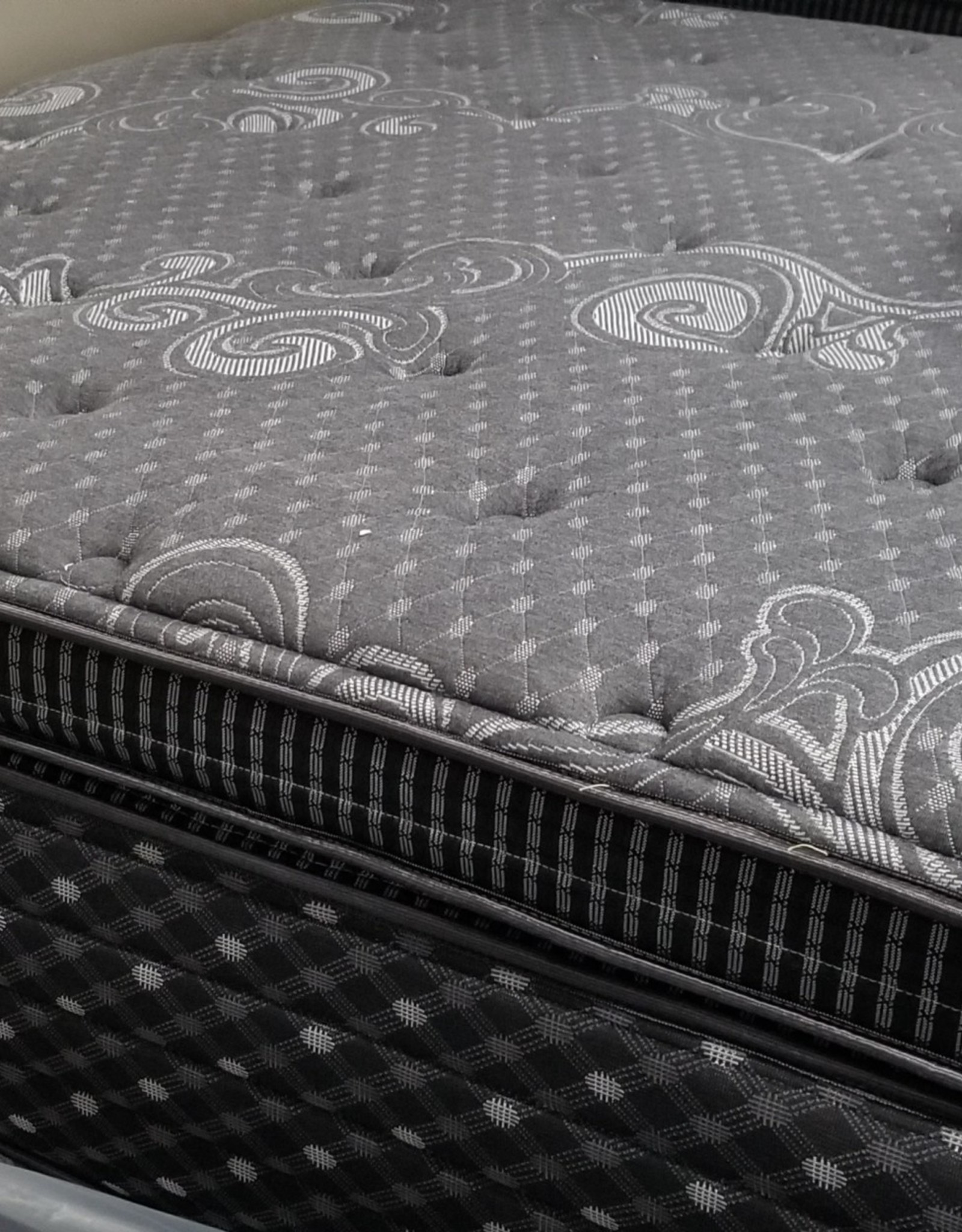 Solstice Edinburgh One-Sided Eurotop Mattress only w/ TruCool