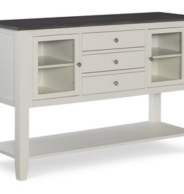 Whitewood Cosmopolitan Server, White Heather Gray