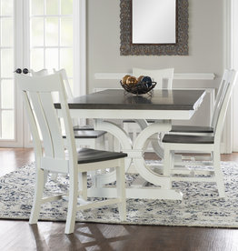 Whitewood Cosmopolitan Table with 6 chairs