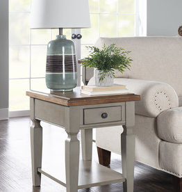Whitewood Vista End Table