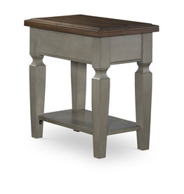 Whitewood Vista Side Table