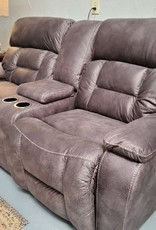 United Dorado Charcoal Loveseat with Power