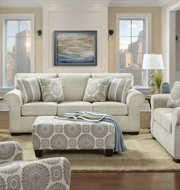 SouthCo Charisma Linen Sofa and Loveseat
