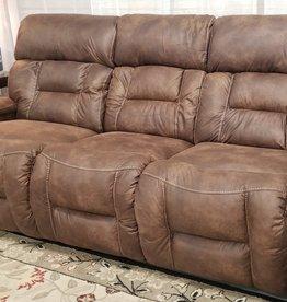 United Dorado Walnut Dual-Reclining Sofa - w/ Power