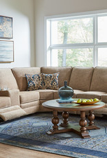 United Palee Buff Reclining Sectional 4-Pc (No Power)