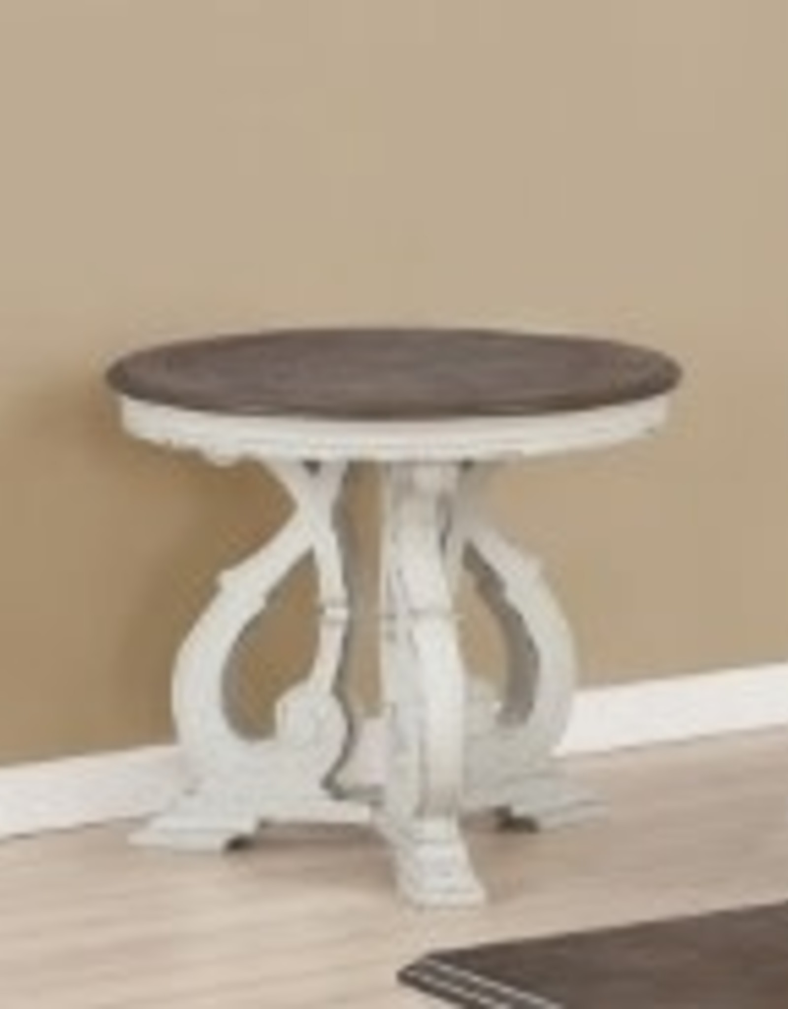 Crownmark Clementine Round End Table