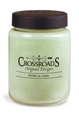 Crossroads Basil and Lime Candle 26 oz