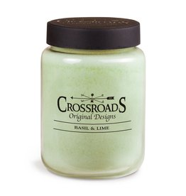 Crossroads Basil and Lime Candle 26 oz
