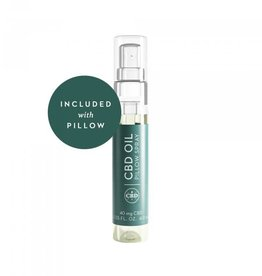 Malouf Zoned Active Dough CBD Pillow - mid loft