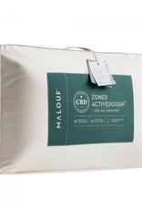 Malouf Zoned Active Dough CBD Pillow - mid loft