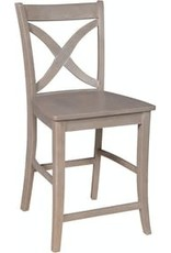 Whitewood Cosmopolitan Salerno Counter-Height Stool (Specify color)