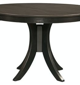 "Whitewood Cosmopolitan 48"" Round Table w/ Flair Base - Counter Height"