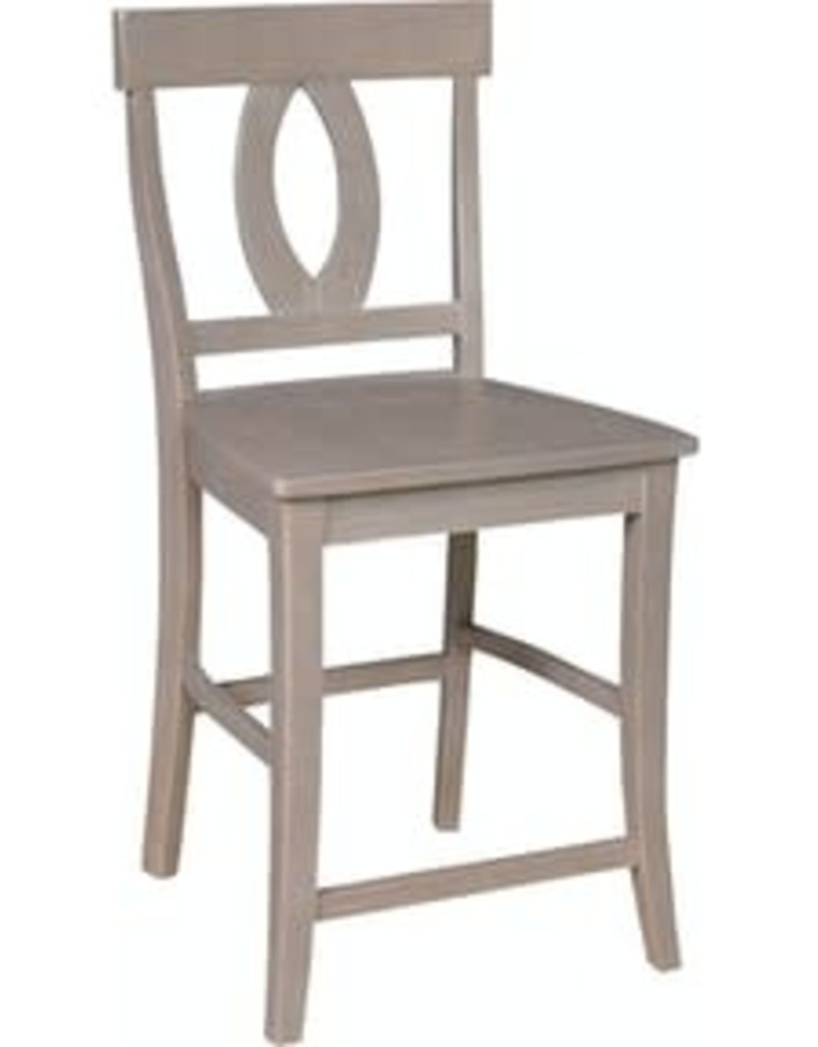 Whitewood Cosmopolitan Verona Counter-Height Stool w/ Back  (Specify Color)