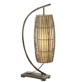 "Crestview Baja Downbridge Lamp 30"" tall"