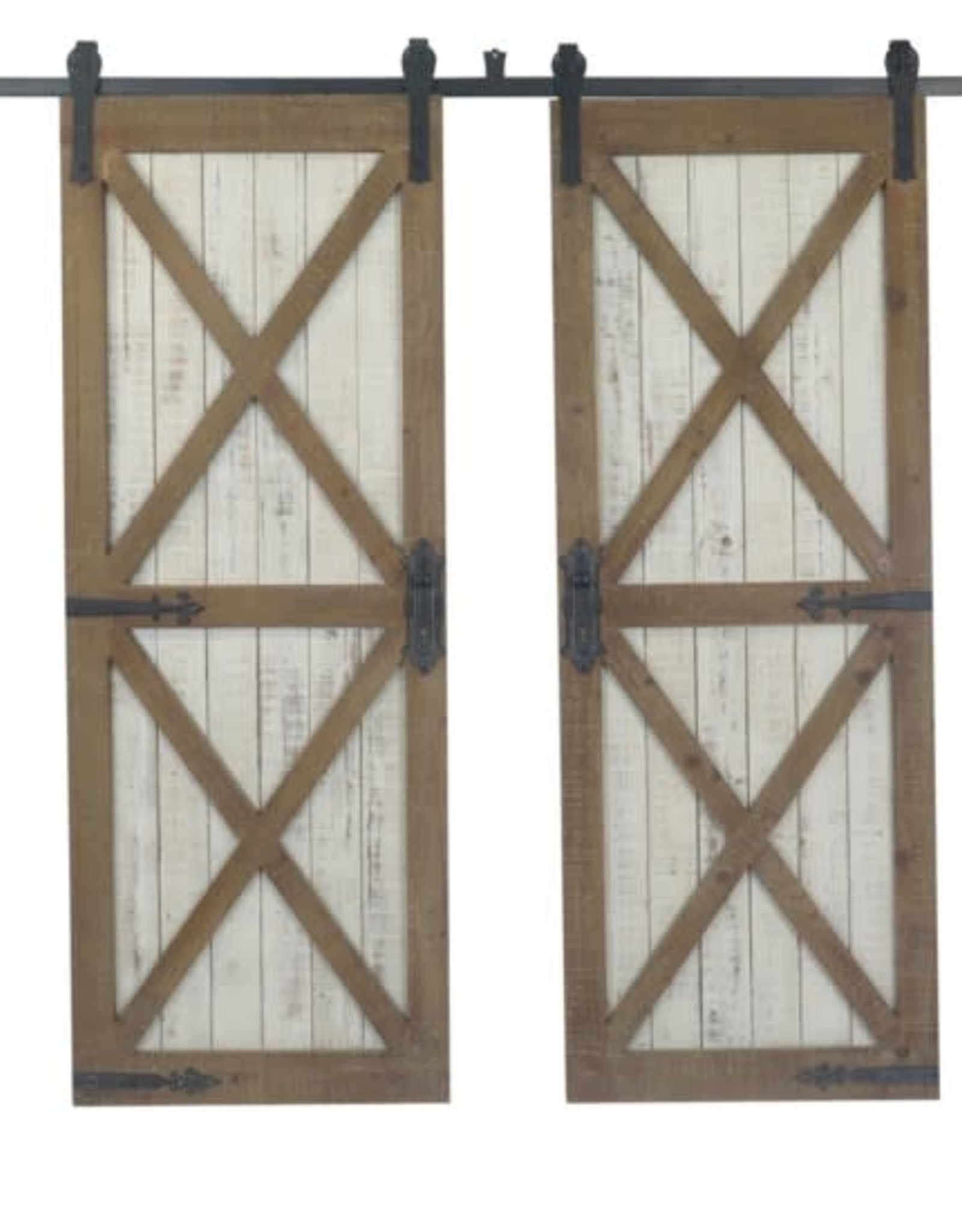 Crestview Double Galvanized Door