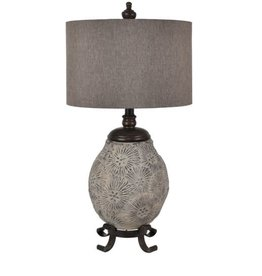 Crestview Sun River Table Lamp