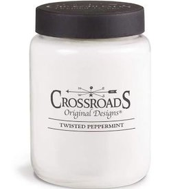 Crossroads Twisted Peppermint 26oz Candle