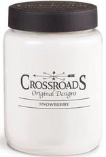 Crossroads Snowberry 26oz Candle