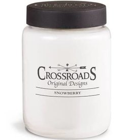 Crossroads Snowberry 26oz Candle