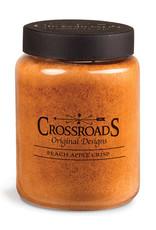 Crossroads Peach Apple Crisp Candle