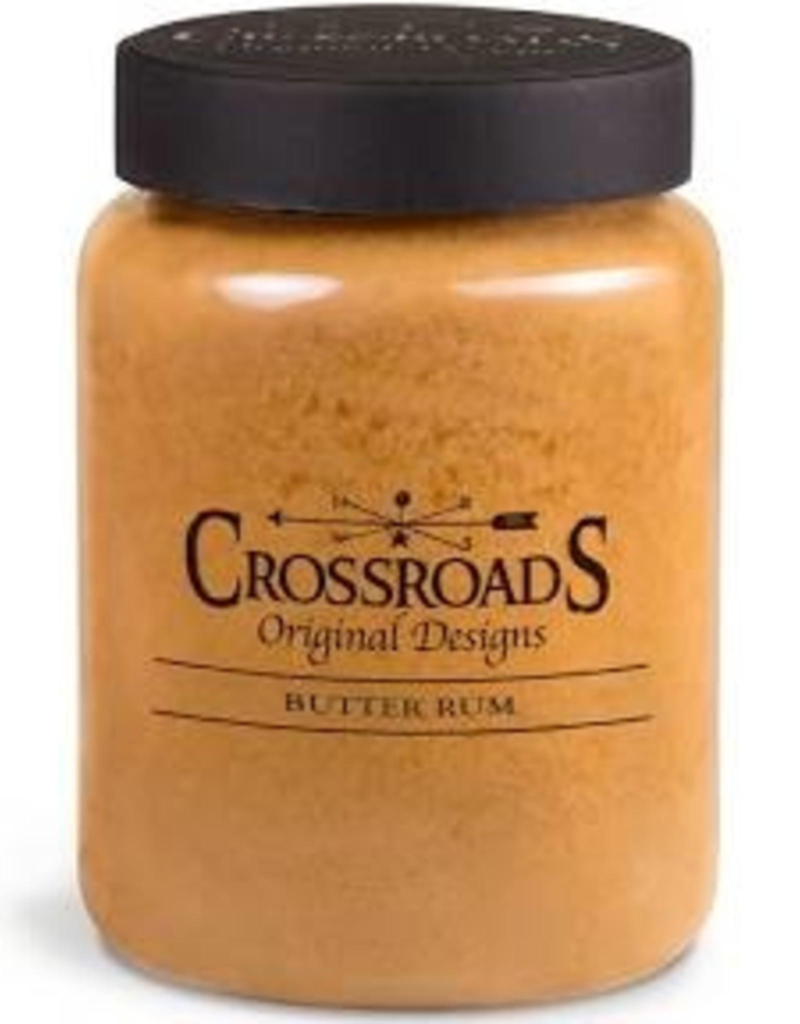 Crossroads Butter Rum Candle