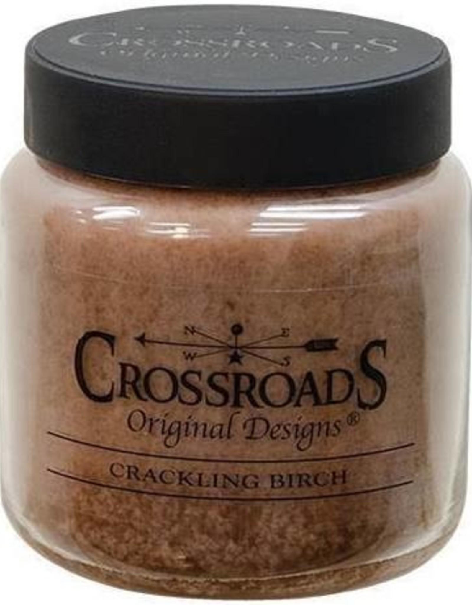 Crossroads Crackling Birch Candle 64 oz