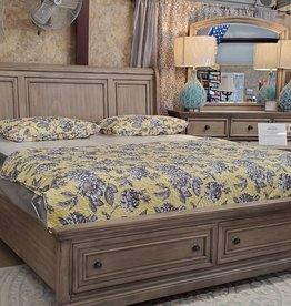 Bernards Ashcott Grey King Bed