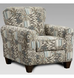 SouthCo Marcey Nickel Accent Chair