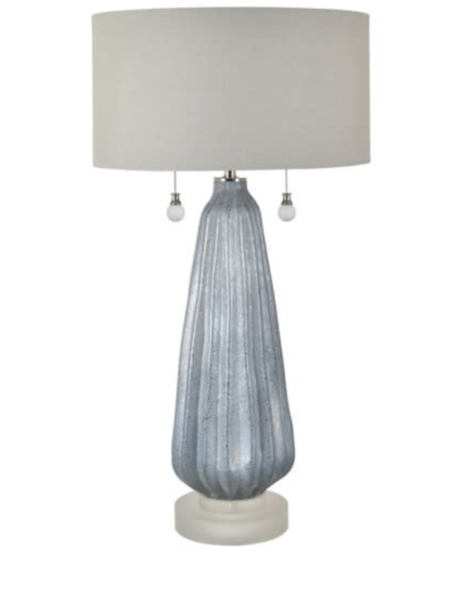 Crestview Blakely Twin Pull Table Lamp w/ Shade