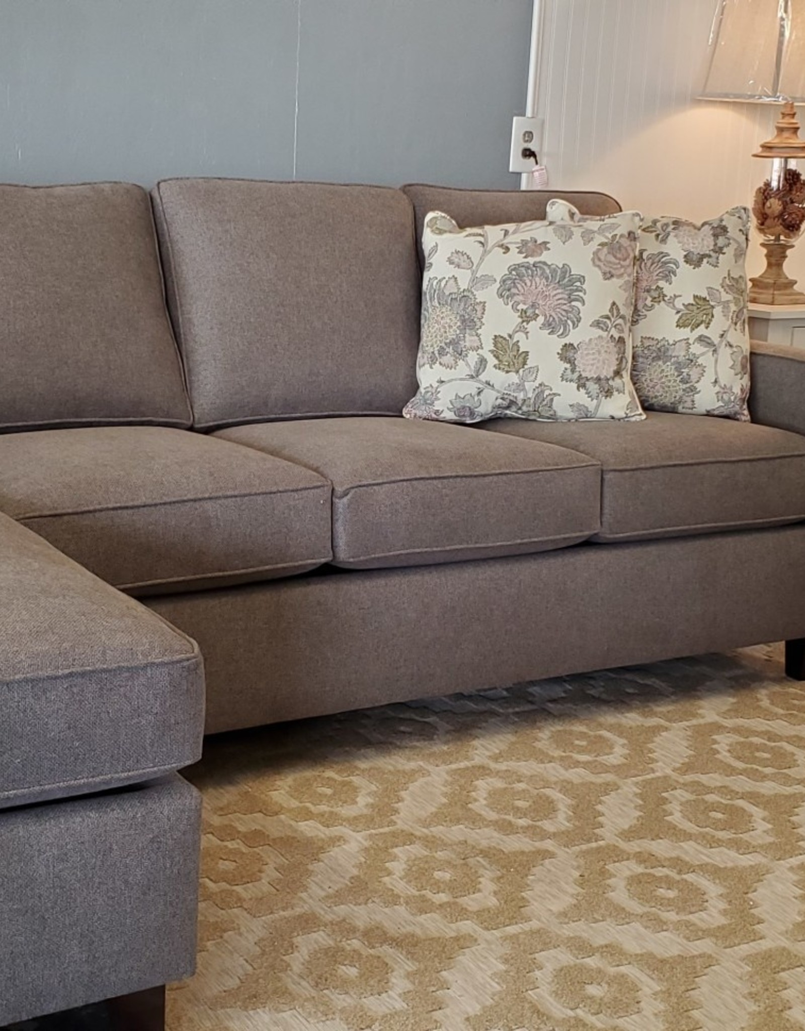 JP Home Ryley Track Arm Sofa w/ Chaise (Specify Color and Chaise end)