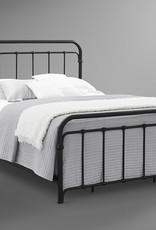 Bernards Shelby Metal Bed King