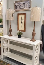 """Whitewood Hampton 48"""" Sofa Table w/ Shelves - 3 Colors Available for order"""