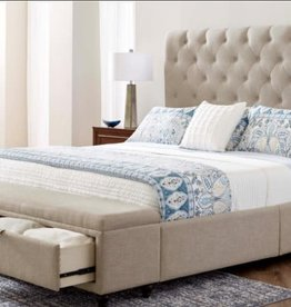 United Sheridan Upholstered Bed - Queen (Specify Color)