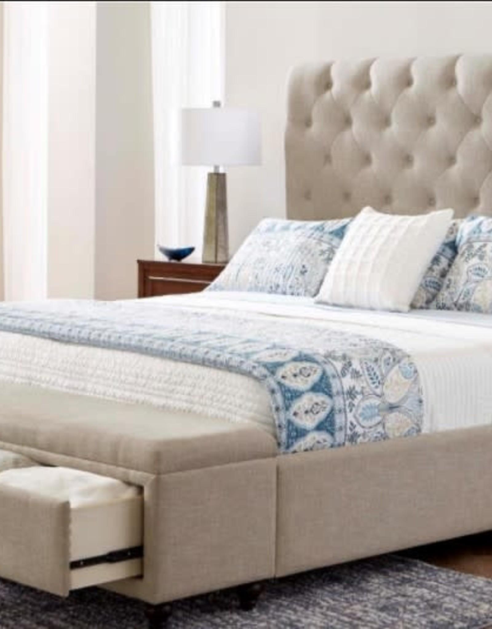 United Sheridan Upholstered Bed - King (Specify Color)