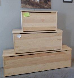 "Fighting Creek 36"" Pine Box w/ Lift Lid - Unfinished"