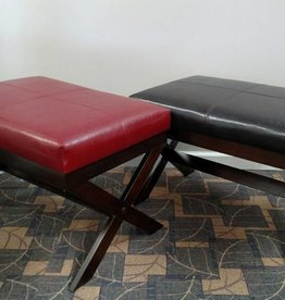 Crownmark Bronson Bench - Red