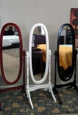 Crownmark Cheval Mirror - Black