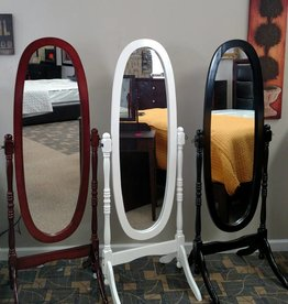 Crownmark Cheval Mirror - Cherry