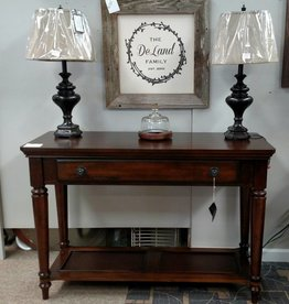 Bernards Driftwood Sofa Table