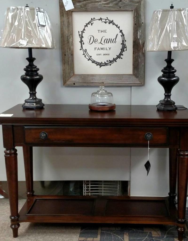 Bernards Driftwood Sofa Table