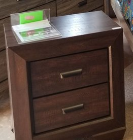 Crownmark Farrow Chocolate Nightstand