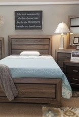 Crownmark Farrow Driftwood Bedroom - Full Size