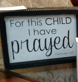 Adams & Co For this Child - I have prayed