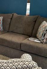 United Grandstand Walnut Sofa
