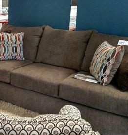 Lane Grandstand Walnut Sofa