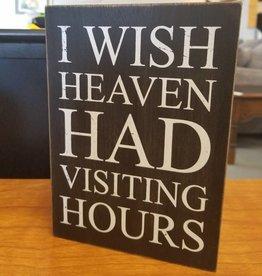 Adams & Co Heaven visiting hours