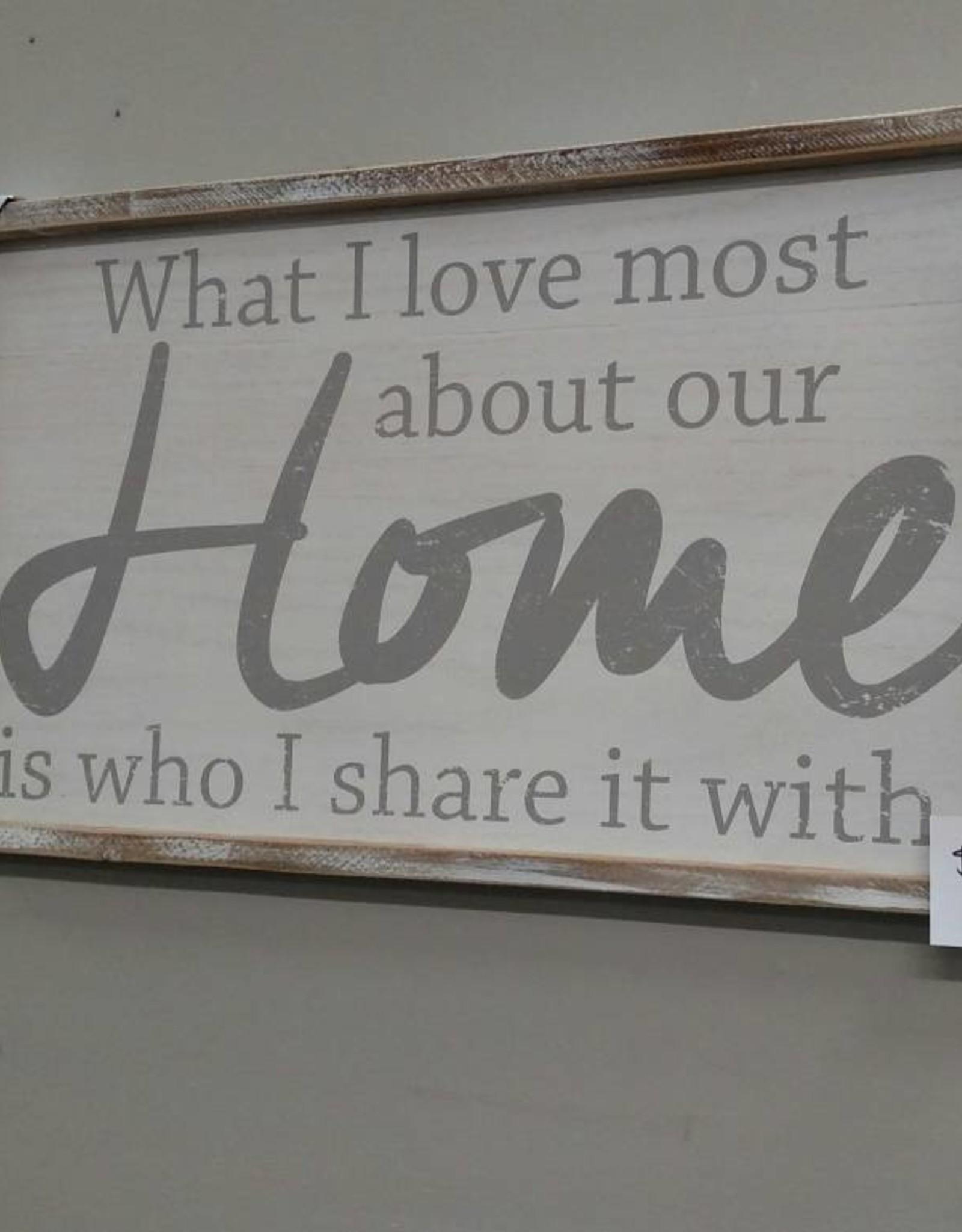 Adams & Co Home - who I share with
